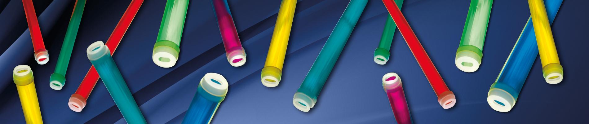 Leuchtstoffröhren Hüllen