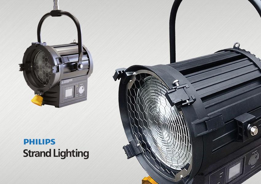 Philips Strand 200F und 400F LED Fresnel