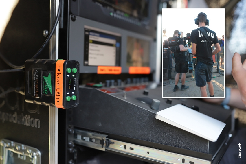 VPS Media setzt auf Green-GO Interkom & Cuelight