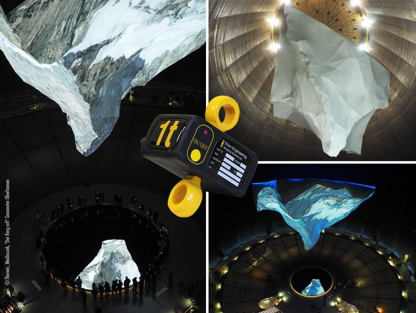 """Ron StageMaster Lastmess Systeme © Thomas_Machoczek, """"Der Berg ruft"""" Gasometer Oberhausen"""